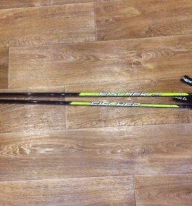 Палки лыжные 115 см.