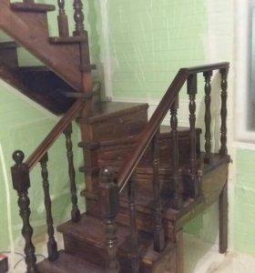Деревянная лестница для Вашего дома