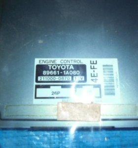 Блок управления двс Toyota Corolla EE101
