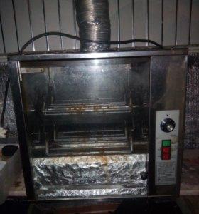 Печь для кур-гриль