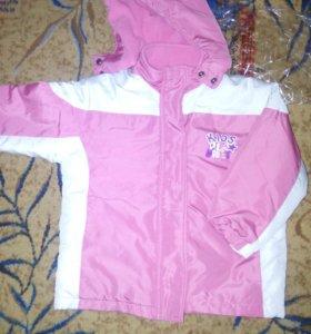 Куртка для девочки(осень)