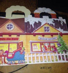 Новогодние(подарочные) коробки