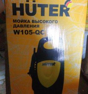 Мойка бесконтактная Huter w105-QC