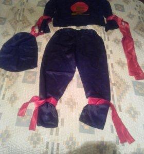 Новогодний костюм Zorro