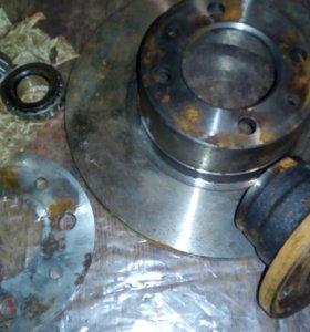 Тормозной диск со ступицей