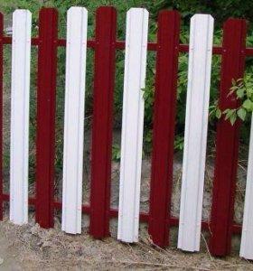 Штакетник на забор