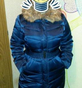 Куртка-пальто  женская Зима