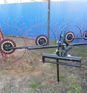 Грабли ворошилки гвк с 3,4,5,8 рабочими колесами