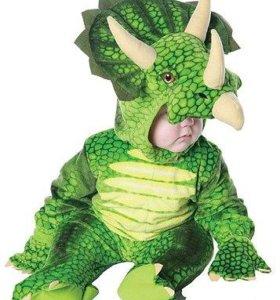 Костюм динозавра новогодний рост 74