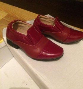 Красивые лакированные туфельки