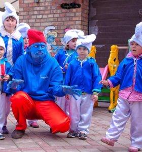 Новогодние костюмы смурфиков ПРОКАТ
