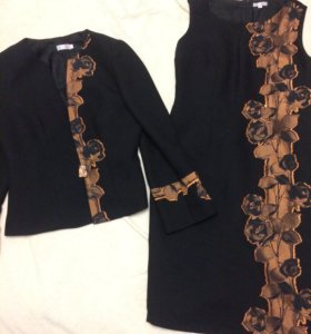 Костюм женский платье + пиджак