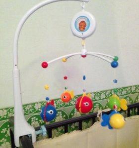 Детская музыкальная мобиль