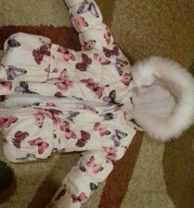 Курточка зима-холодная осень д/д 2-3 лет