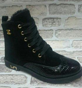 Ботинки зима 37