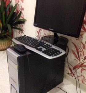 Компьютер настольный полный комплект