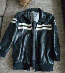 Куртка кожанная осенняя