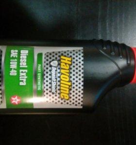 Моторное масло havoline diesel extra