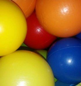 Шары разноцветные для сухого басейна!