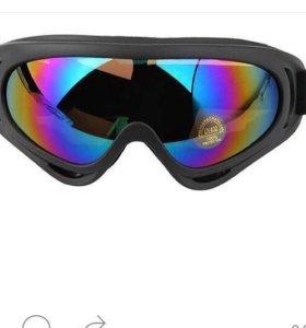 Очки для сноуборда,лыжи,катания .