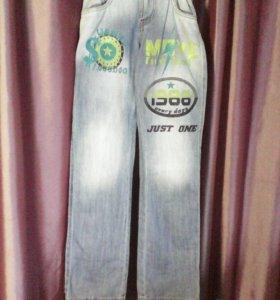 Новые джинсы рост 164см