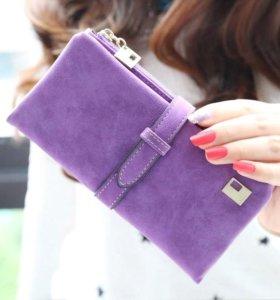 Новый! Стильный женский кошелёк .