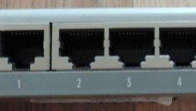 CNet 5 port switch