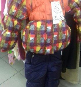 Зимний костюм девч