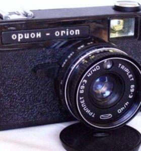 Малоформатный фотоаппарат ОРИОН ЕЕ со встроенным
