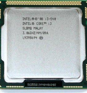 Процессор Intel i3-540