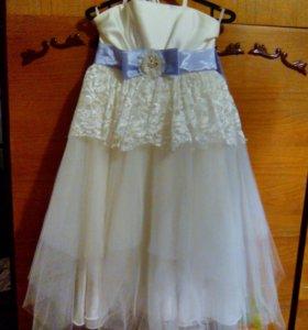 платье для выпускного на 6-7 лет