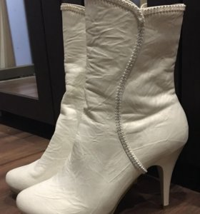 Полусапожки. Свадебная обувь.