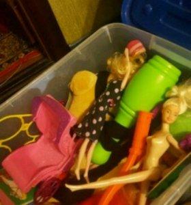 Ящик игрушек от 0 до 2 лет.