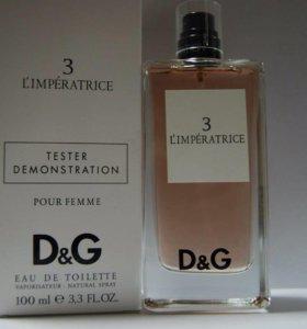 Dolce & Gabbana - 3 l`impratrice тестер