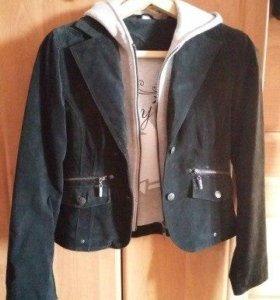 Замшевая куртка -пиджак