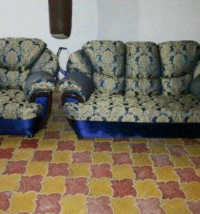 Ремонт и реставрация мягкой мебели, также на заказ