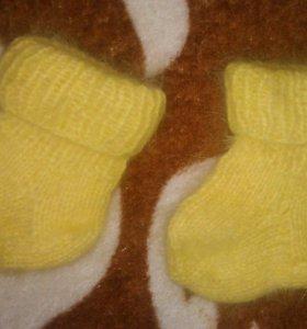 Носочки для наворожденного