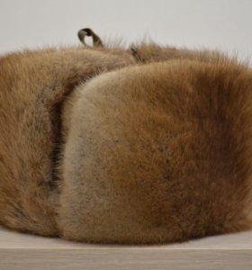 Шапка ондатровая (ушанка)