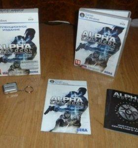 Коллекционное издание игры Alpha Protocol