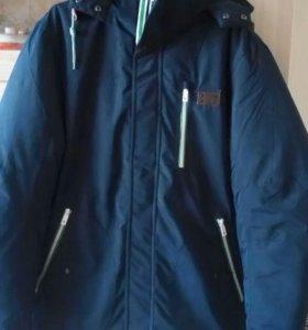 Куртка мужская зимняя новая размер54-56