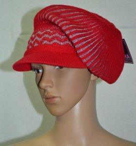 Комплект шапка+шарф новый