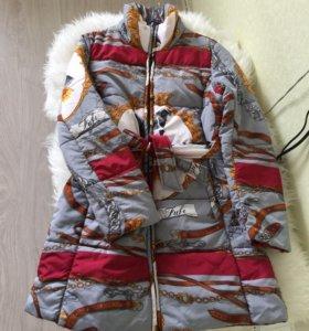 Стеганое пальто-куртка по супер цене❗️