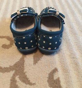 Туфельки для девочки 22 размер
