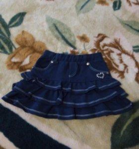 Детские юбочки  98-104см.