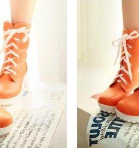 Ботинки Оранж