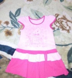 Детские платья 98-104 и туничкаSB.