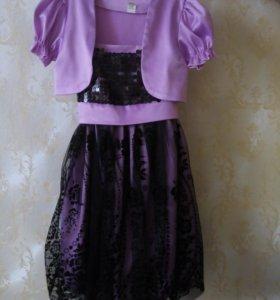 Нарядное платье р. 34