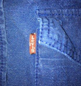 Levis рубашка под джинсу