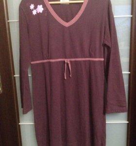 Домашнее платье мини 44-46рр