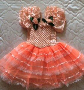 Бальное платье для маленькой принцессы!